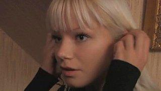 Cute blonde Swedish teen and her boyfriend