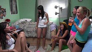 Lesbian dorm mates