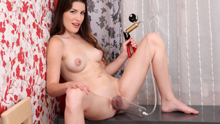 Zena Little spreads her legs