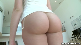 Ass so big and perfect for a white girl. Staring Mia Malkova.