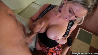 Effective blonde  Abbey Brooks fucking the neighbour Thumbnail