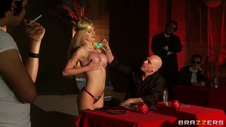 Perv Johnny Sins in the underground club Thumbnail