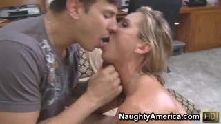 Amanda Blow and Anthony Rosano in hardcore scene