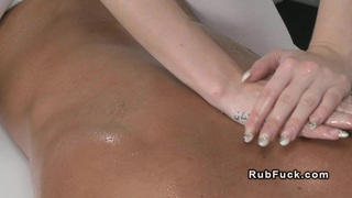 Masseuse fucked by muscled guy european fetish Thumbnail
