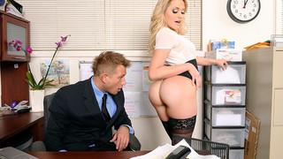Mia Malkova & Bill Bailey in Naughty Office Thumbnail
