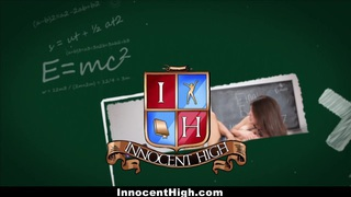 InnocentHigh - Blonde Schoolgirl Fucked Hard By Her Prof
