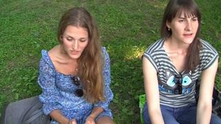 Myra in slut gets fucked in the park by a horny guy Thumbnail