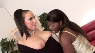 Sweet interracial group sex