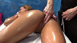 Collision of sensual massage, masturbation and sex