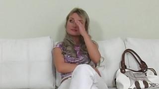 Blonde Czech amateur babe has hardcore casting Thumbnail