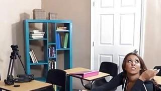 Slutty teen student Sophia Torres ass fucked by her teacher Thumbnail