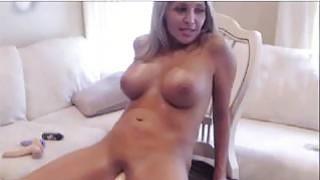 Hot Web Cam Girl Fucks Her Fuck Machine Thumbnail