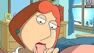 Family Guy Hentai  Naughty Lois wants anal