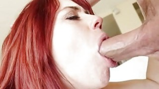 Cutie is having pleasure tasting men thick shaft Thumbnail