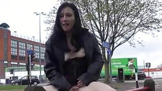 Fae Corbins amateur flashing and outdoor babes pub