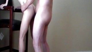 Standing fuck in heels and cum swallow Thumbnail