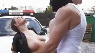 Officer Molly Jane and a hooded man bangs Thumbnail