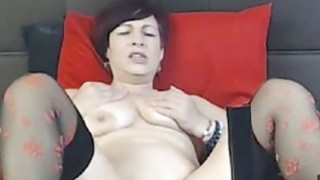 Milf deep toying pussy with fucking machine Thumbnail