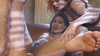 Very sloppy and nasty double penetration fuck for Thumbnail