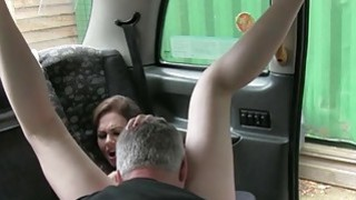 Hot and sexy passenger gets her ass nailed by fraud driver Thumbnail