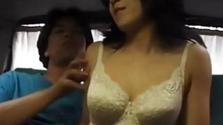 Sayaka gets ibrators and cock in hairy pussy Thumbnail