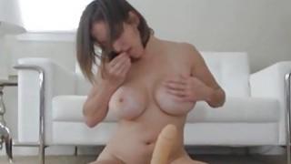 Huge Juggs College Professsor Riding a Sex Doll Thumbnail