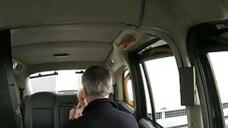Busty amateur blonde passenger ass banged by fraud driver Thumbnail