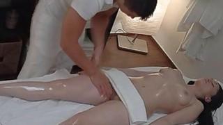 Brunette Teen Experiences Passionate Sex on Massag Thumbnail