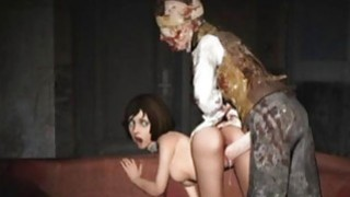 3D Scared Girls Destroyed by Monsters! Thumbnail