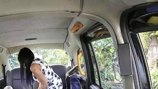 Busty masseuse fucks on taxi bonnet Thumbnail