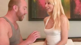 Blonde babe Erica Fontes keeps moaning as she is getting banged in the ass Thumbnail