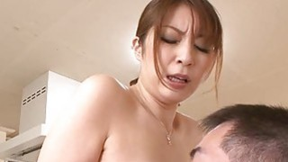 Oriental stimulates her cunt with a meaty toy Thumbnail