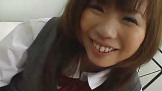 Asian teen knows how to deep throat hard cock Thumbnail