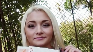 Czech babe Alive Bell pounded for cash Thumbnail