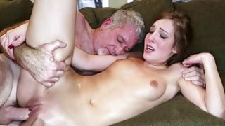 Alexa Grace getting feed with a cock Thumbnail