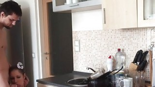 Anal fuck in the kitchen always feels great Thumbnail