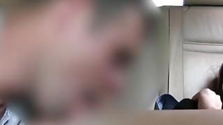 Big cock fake taxi driver fucks slim babe