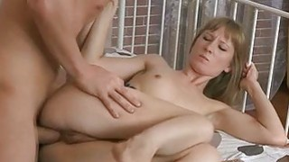 Naughty gal gets her pussy and butt gap banged Thumbnail