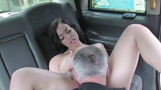 Sexy amateur passenger railed by fraud driver Thumbnail