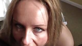 Busty blonde bbw deep throats fake cops big cock