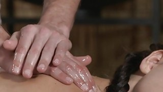 Thick ass hottie gets massage and sex Thumbnail