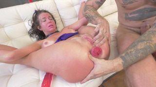 Veronica Avluv gets her prolapsed anus stuffed with long cock Thumbnail