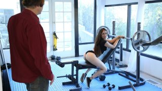 Teen got seduced by step daddy