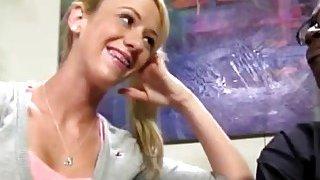 Blonde Milf Kaylee Hilton Riding Big Black Dong Thumbnail