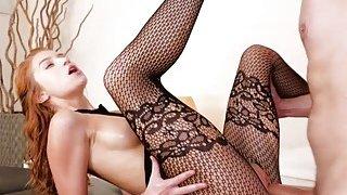 Hot masseuse Arya rubs & fucks a big cock Thumbnail