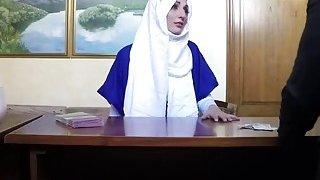 Arab Ex Enjoys Riding Long Schlong In Hotel Room Thumbnail