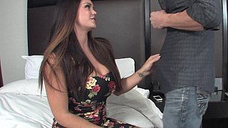 Big booty brunette gets banged Thumbnail