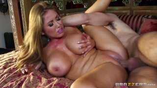Hot babe and yummy mummy share a giant fuck stick