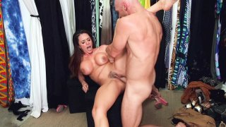 Big titted Ariella Ferrera gets pussy drilled by Johnny Sins Thumbnail