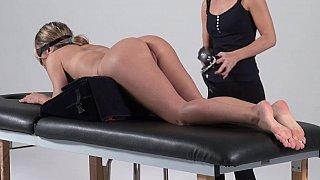 Bondage massage, amateur forced to cum Thumbnail